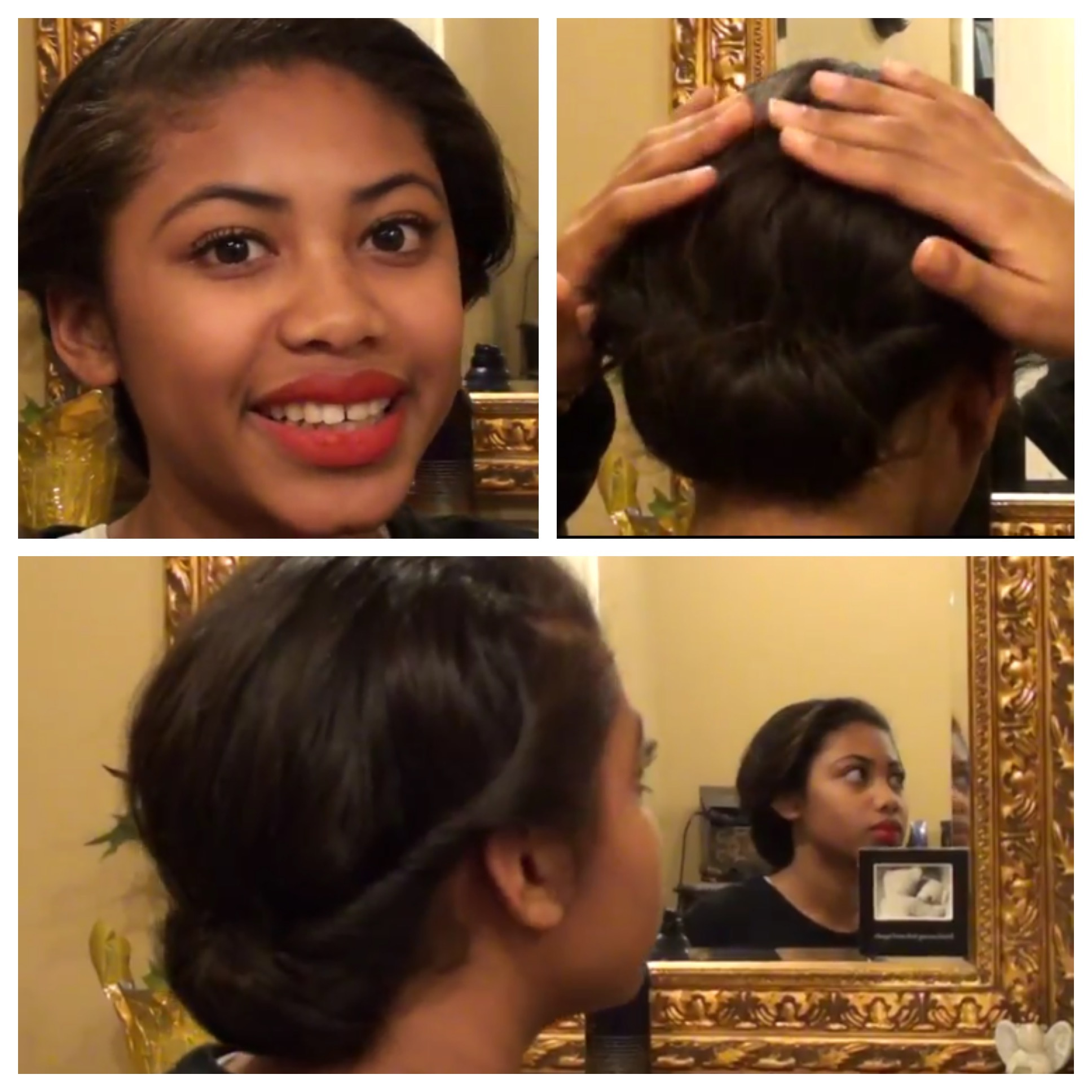 New Year's Eve Hair Tutorial