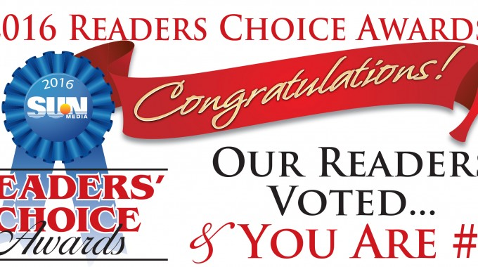 SUN Readers' Choice Awards 2016