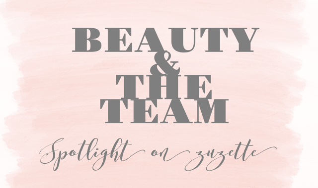 Zuzette: My Three Beauty Must-Haves