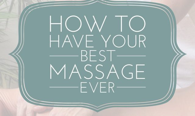 Three Ways To Prepare For Your Massage