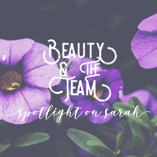 Sarah: My Three Beauty Must-Haves