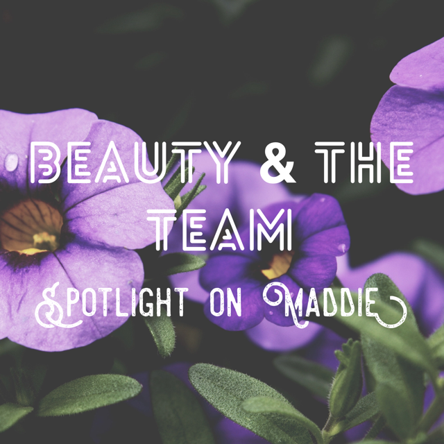 Maddie: My Three Beauty-Must Haves