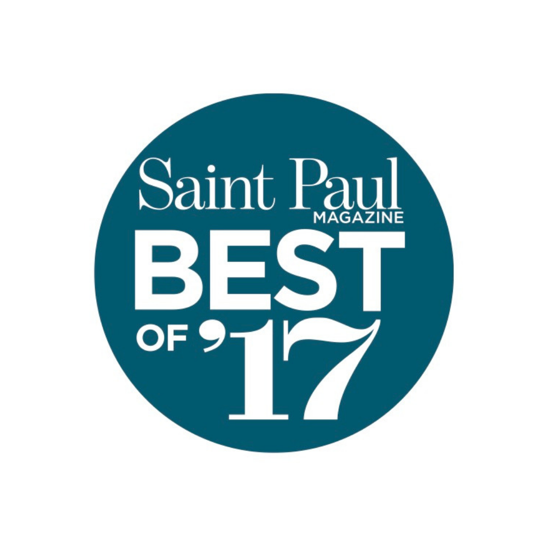 "Saint Paul Magazine ""Best Of"" 2017"