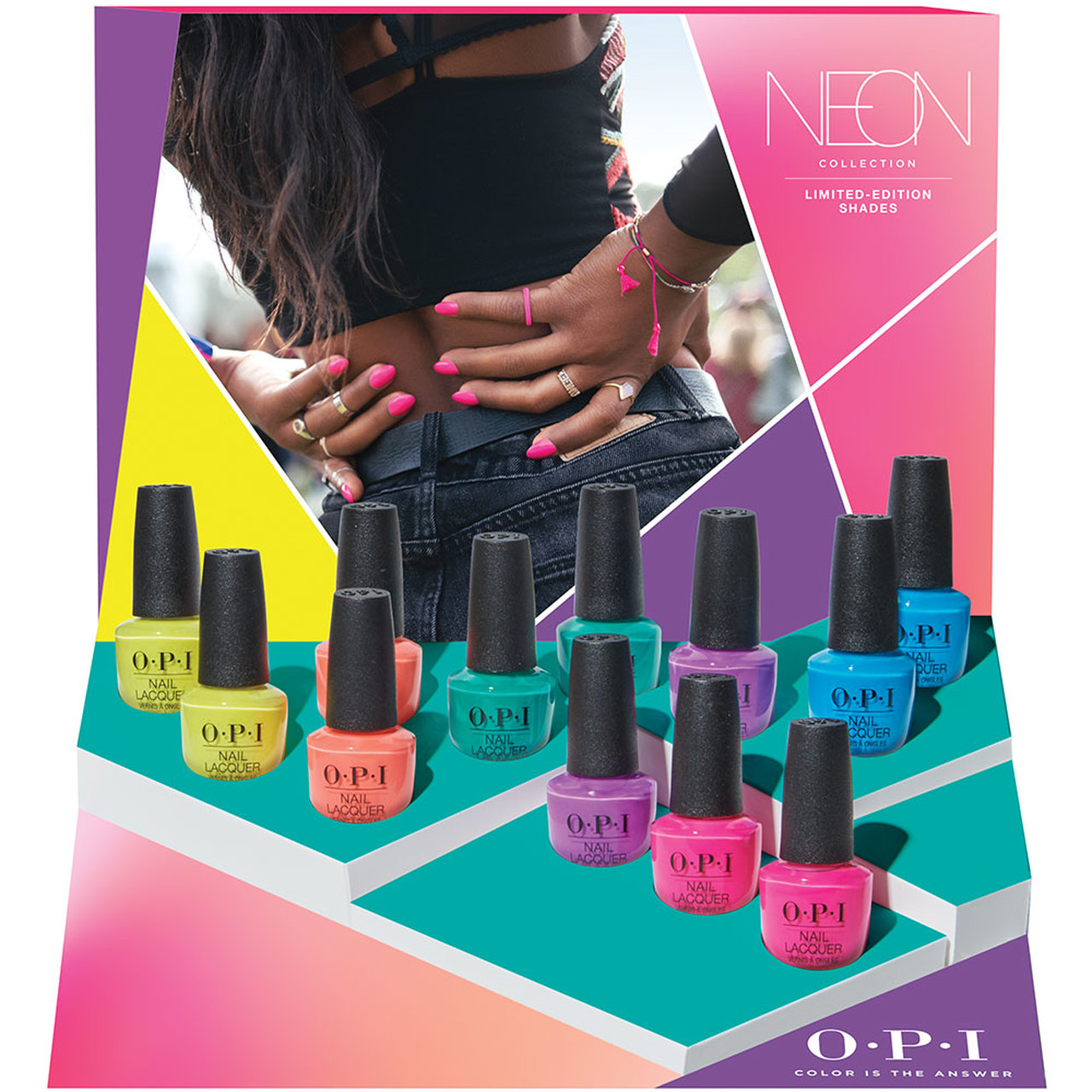 OPI Neon Summer Collection 2019